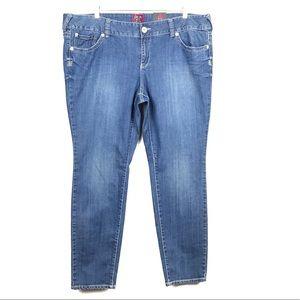Torrid Skinny Leg Stretch Jeans size 22 NWT